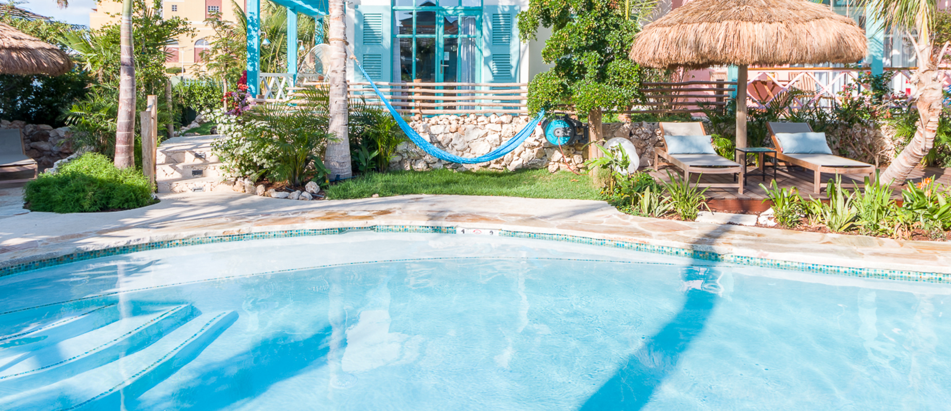 One bedroom casita with pool view